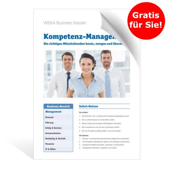Business Dossier: Kompetenz-Management – Die richtigen Mitarbeitenden heute, morgen und übermorgen