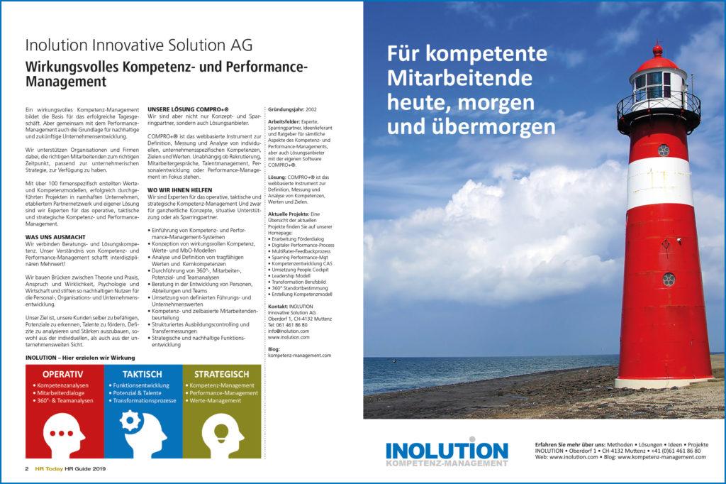 INOLUTION im HR Today HR Guide