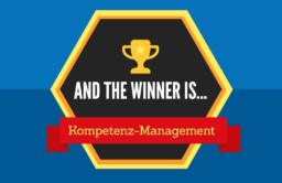 And the Winner is ... Kompetenz-Management Teaser