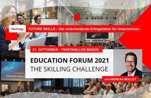 Education Forum 2021 mit Andreas Mollet