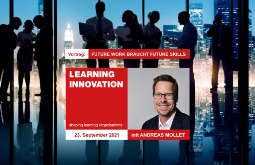 12. Learning Innovation Conference mit Andreas Mollet